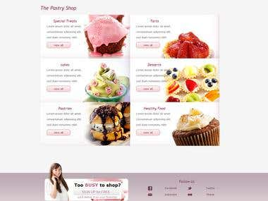 CakeDelight E-commerce project