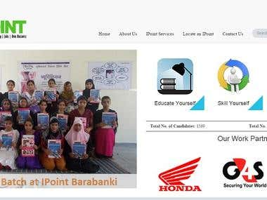 India's first online Education System (IPoint)