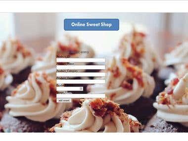 online sweet shop