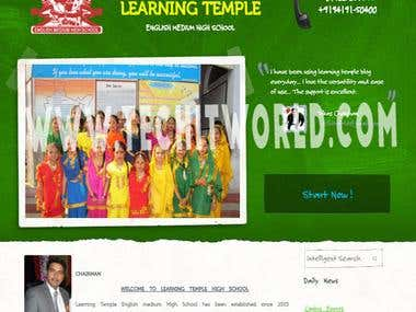 Learning Temple School