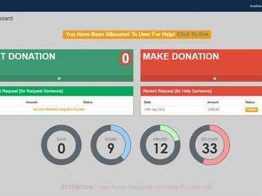 LibertyXtrades - Donation Site (CodeIgniter)