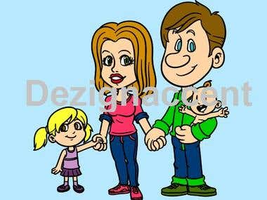 Family Vector Design