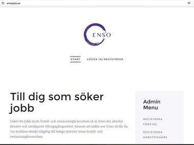 http://ensojobs.se/ - joomla website