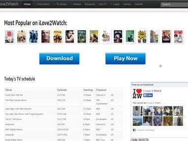 Online Movie Site
