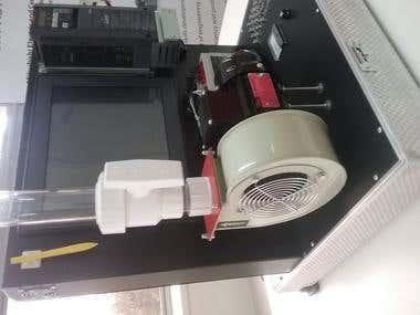 Mitsubishi Plc, Scada and Drive project Simulation Kit.