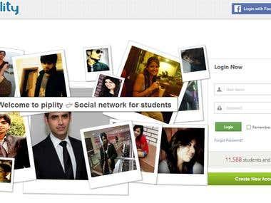 Piplity social network