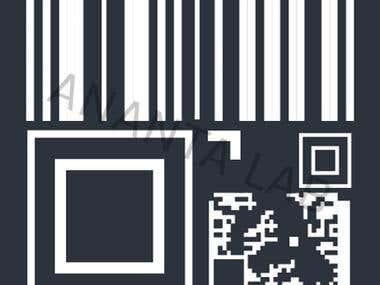 Qr Code Scanner Logo Design