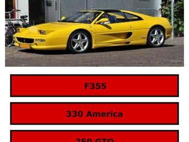 Ferrari Quiz iOS App