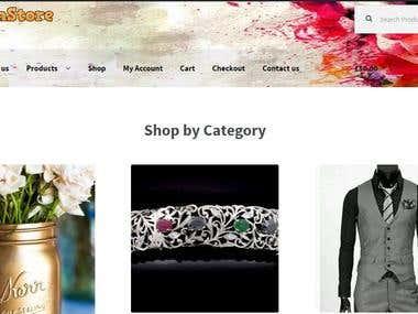 WooCommerce eStore