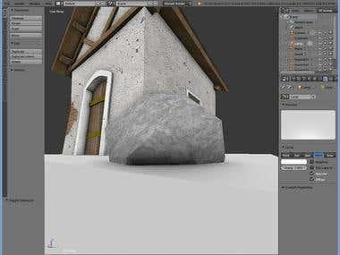 Modeling 3D Blender