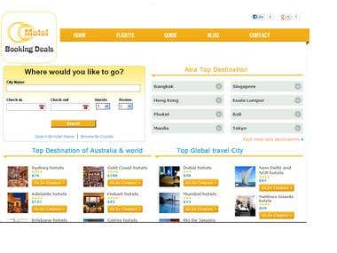 Hotel booking compare portal
