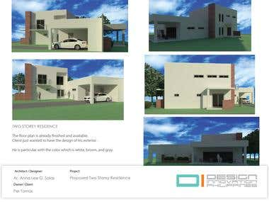 PROPOSED TWO STOREY RESIDENCE