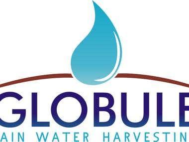 Logo Design - Globule Rain Water Harvesting