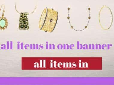 banner for online shop