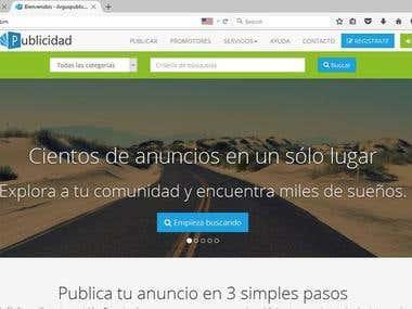 ArgusPublicidad.com website