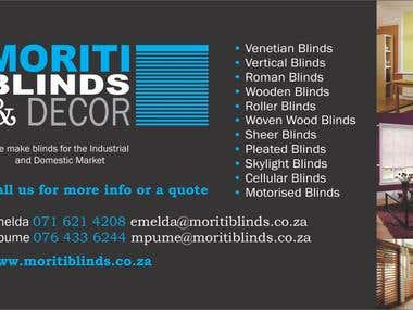 Moriti Blinds