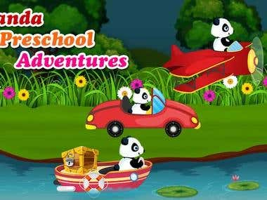 Panda Preschool Adventures - Educational App