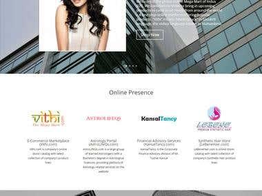 IndusB2C website