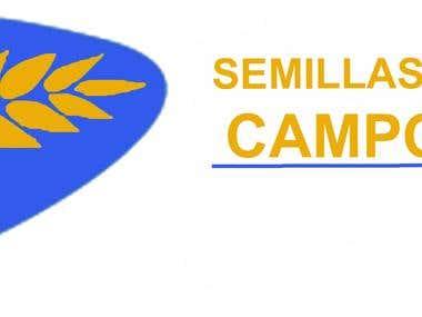 Creación de logo para empresa de granos y semillas.