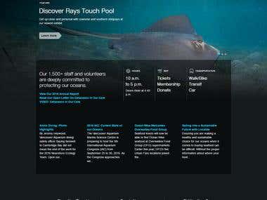 Vancouver Aquarium Home