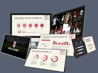 Fulham Football Club PowerPoint Template