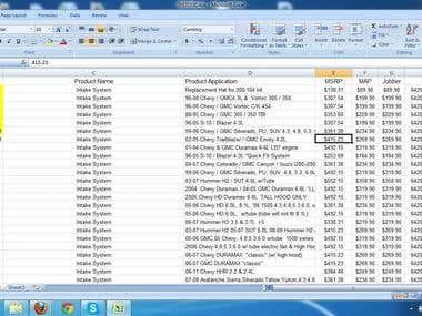 Easy Data Entry Work