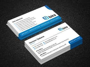 Logo With Business Card Project.