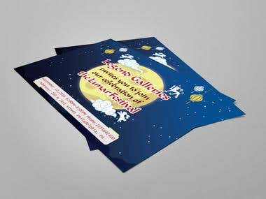 Lunar Festival Flyer