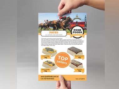 Posh Foods Flyer