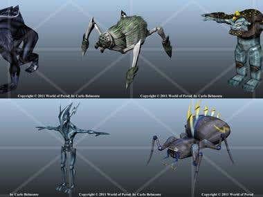 Game Creatures