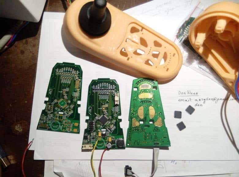 Wheelchair controller pcb base on STM32F405 | Freelancer