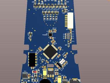 Wheelchair controller  pcb base on STM32F405