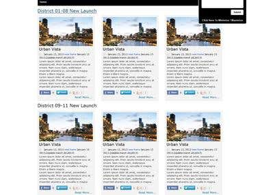 Real estate website desig and development Wordpress