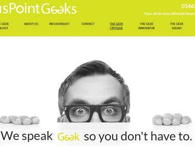 WordPress Landing Page Website