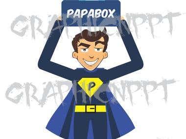 Logo Plus Mascot Design
