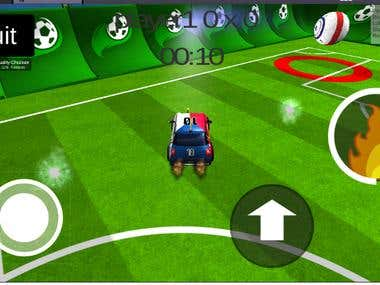 SoccerCar Game