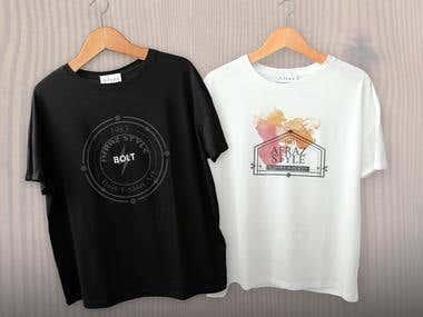 T-Shirts Mokeup