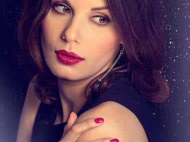 Model beauty