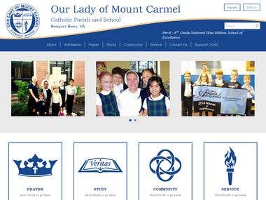 https://www.olmc-school.com/ - Our Lady of Mount Carmel
