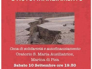 Invito Cena di Solidarietà