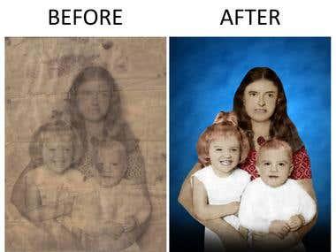 Rejuvenate Old Image to