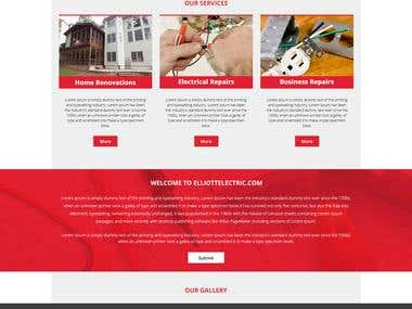 Website psd Mokeup Design