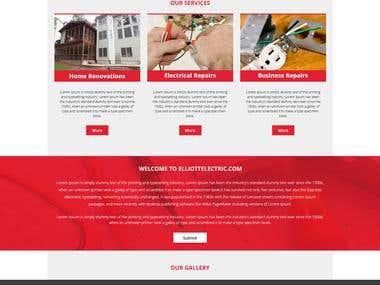 Website psd Mokeup Design