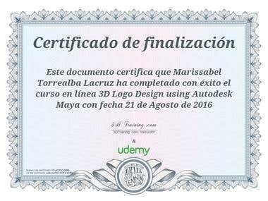 Certificate Logo Design