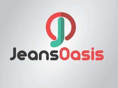 Jeans Oasis Logo Design