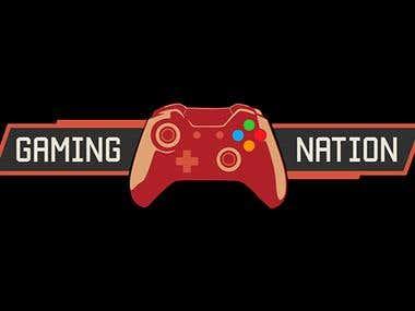 a Gaming logo for a csgo team