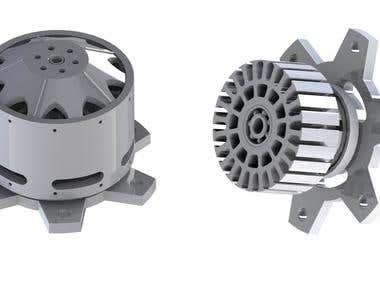 Manufacturing designing, CAD modelling