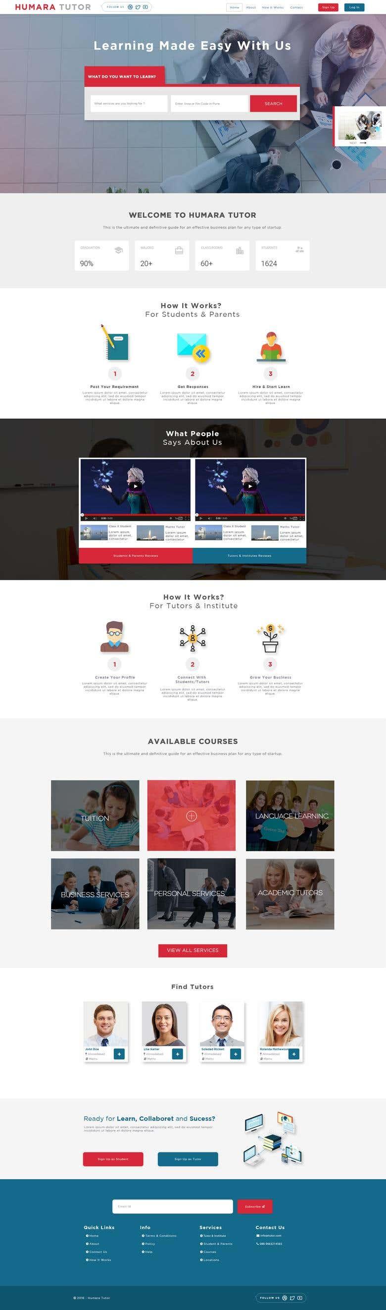 Hamara Tutor Responsive Web Design Core Php Development Freelancer