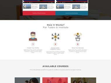 Hamara Tutor-- Responsive web design + core PHP Development
