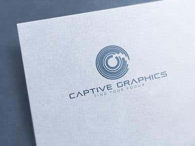 Logo for Captive Graphics